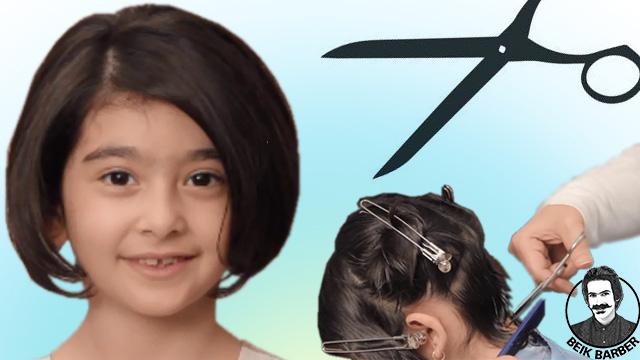 آموزش هیرکات موی کودک