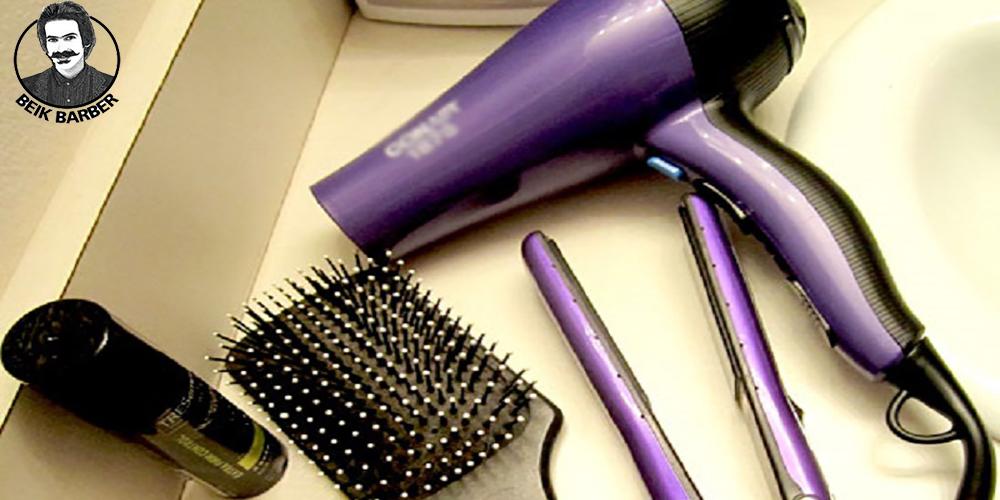 ابزار آرایشگری اتو و سشوار