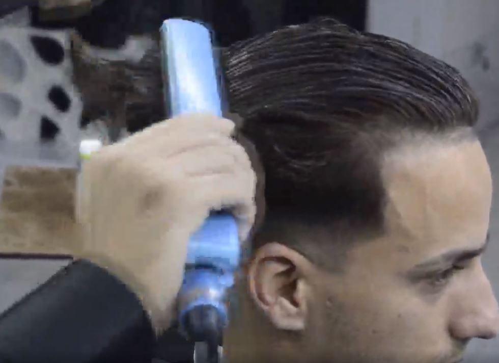 مراحل کراتینه کردن مو با سبک استاد بیک9