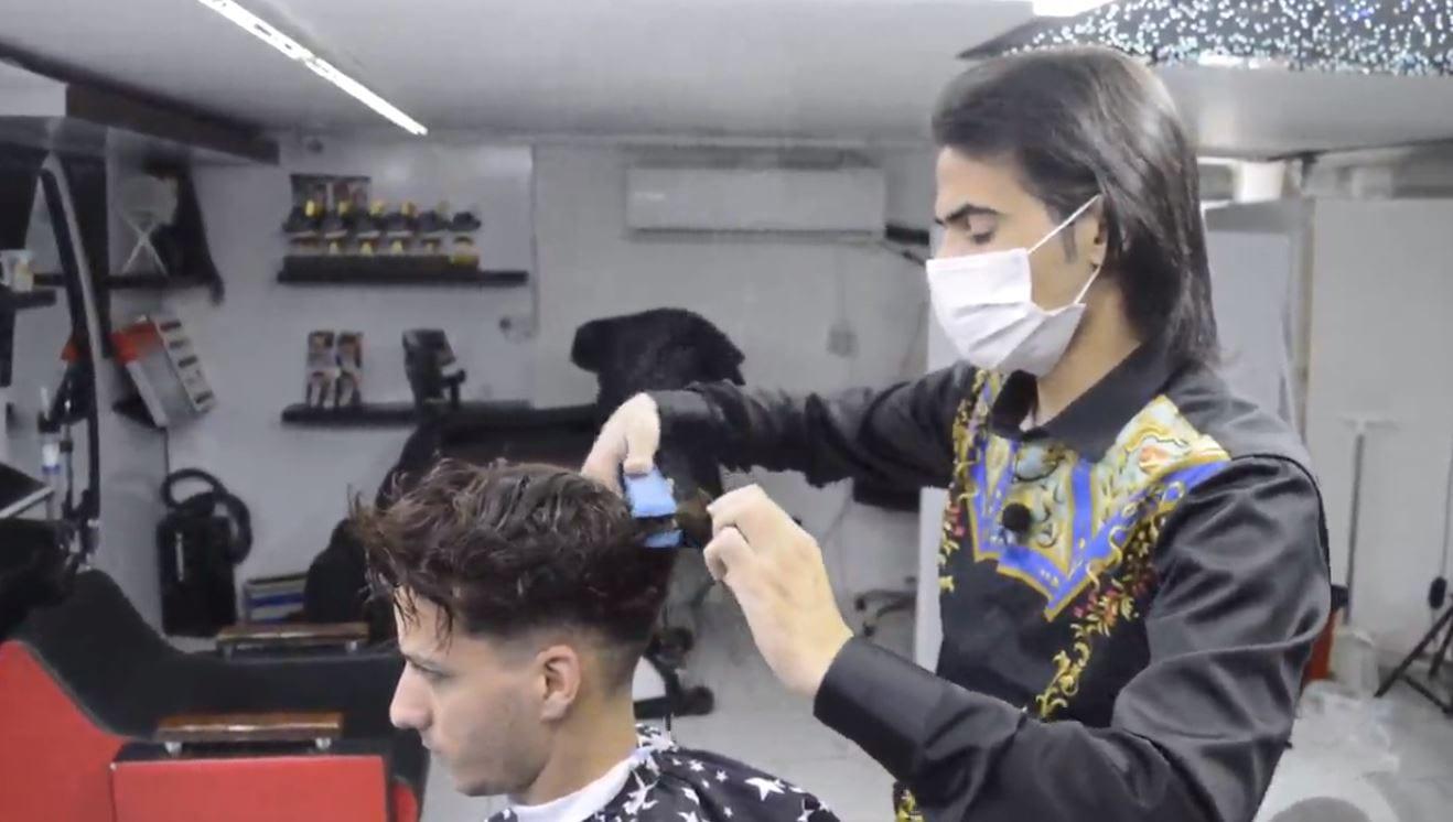 مراحل کراتینه کردن مو با سبک استاد بیک11