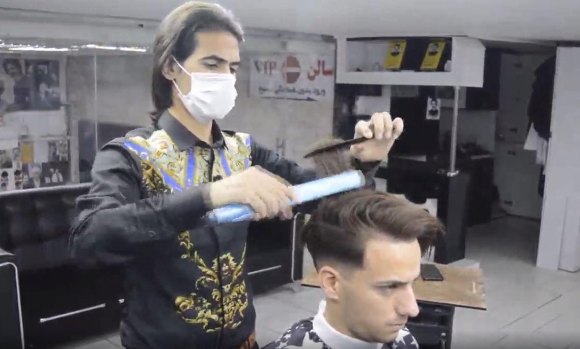 مراحل کراتینه کردن مو با سبک استاد بیک15