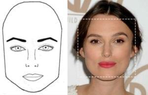 چهره مربعی
