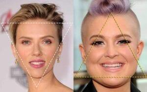 چهره مثلثی