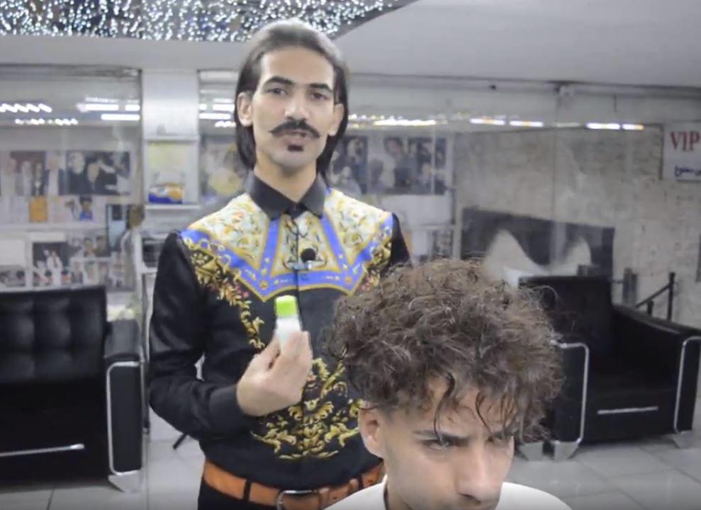 مراحل کراتینه کردن مو با سبک استاد بیک2