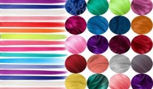 رنگ های کمکی (واریاسیون ها)