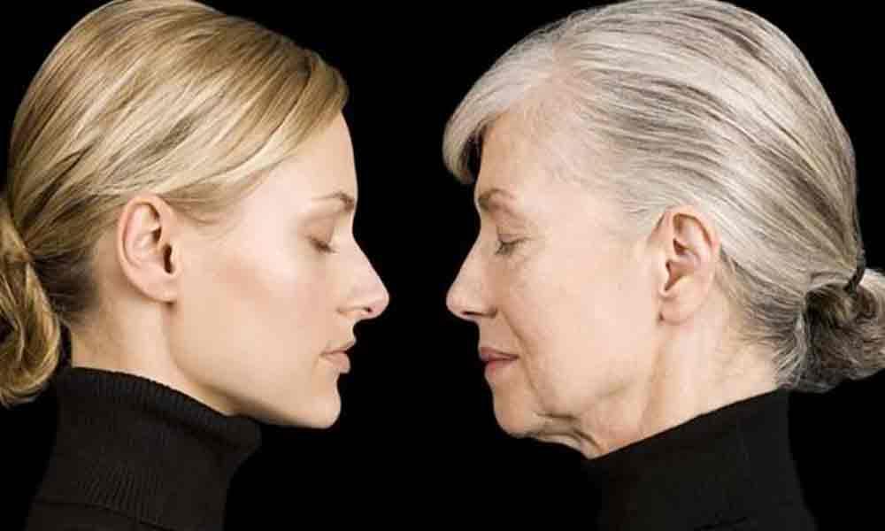 طراحی گریم برای چهره پیر