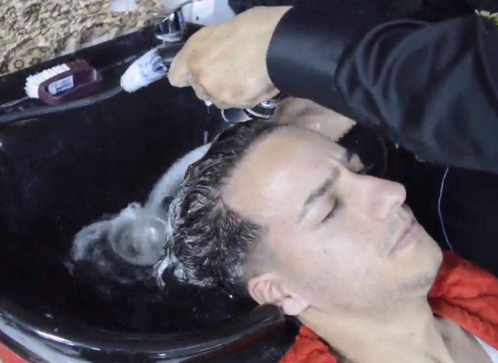 مراحل کراتینه کردن مو با سبک استاد بیک5