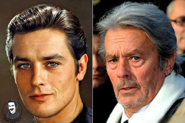 تبدیل چهره ی بازیگر مُسن به شخصیت جوان
