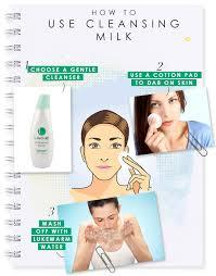 نحوه ی استفاده از شیر پاک کن