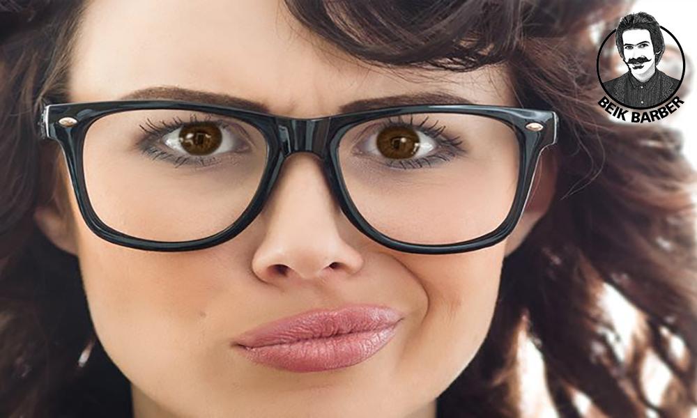 آرایش افراد عینکی