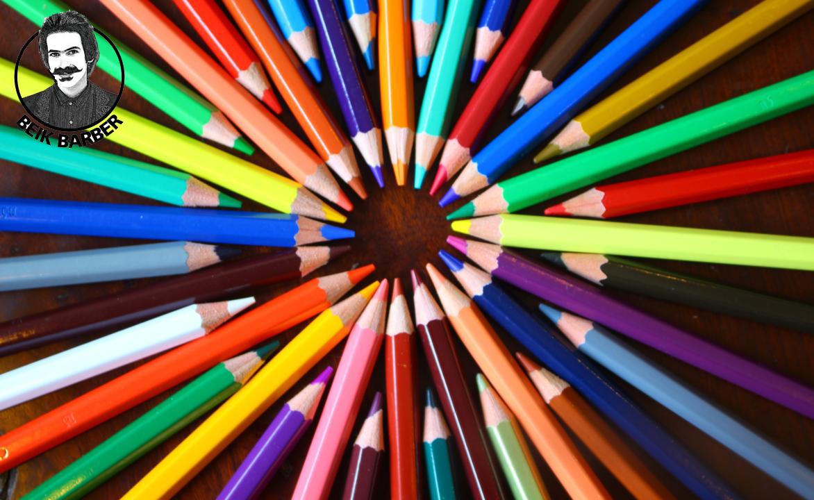 کنتراست سردی و گرمی و کنتراست رنگ های مکمل