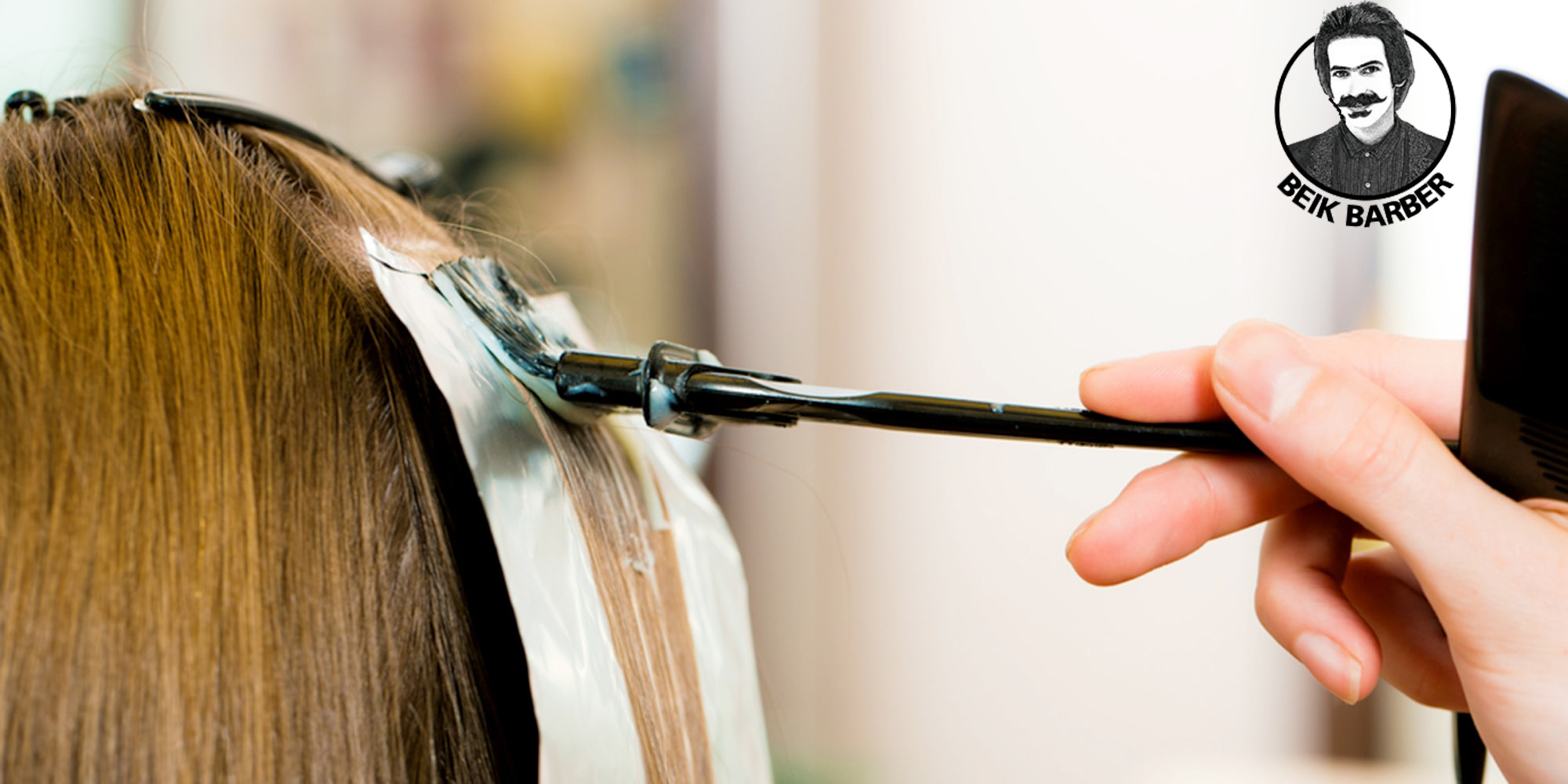 تست حساسیت پوست سر قبل از رنگ آمیزی