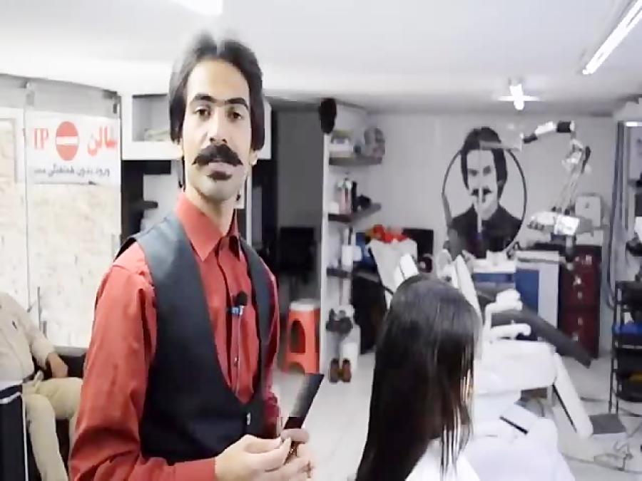 اصلاح موی بلند فقط با تیغ
