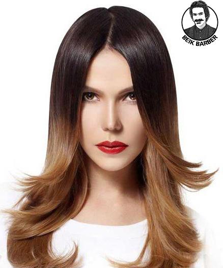 میزان روشنی مو طبیعی و رنگ شده