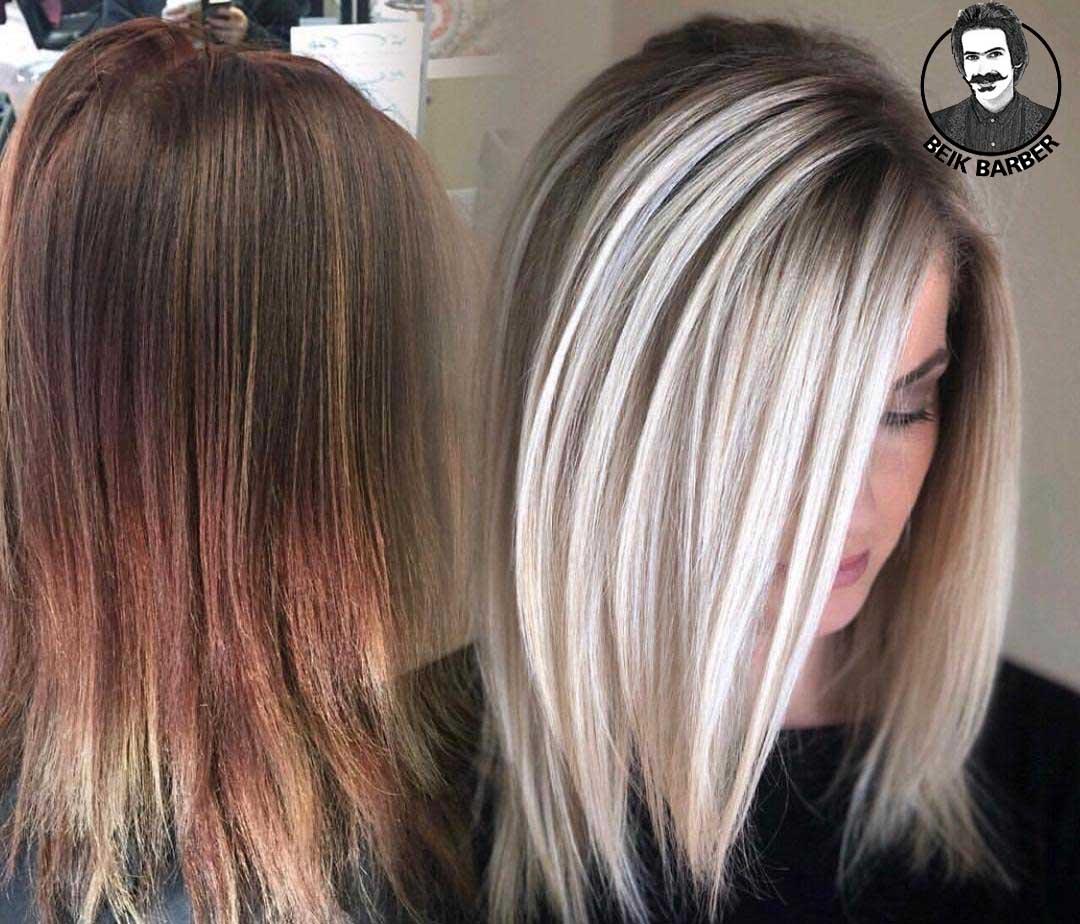 نکات مهم هنگام رنگ کردن مو