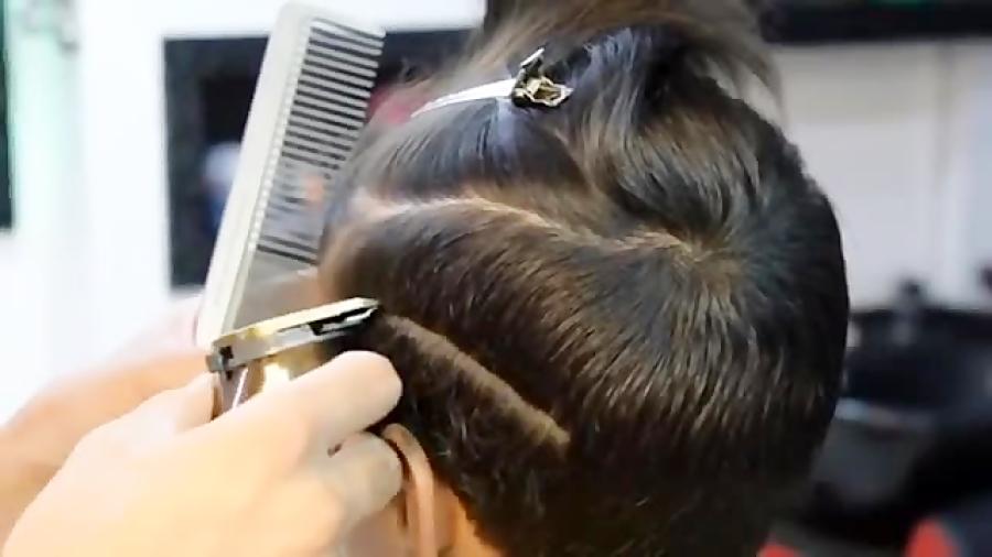 پکیج آموزش سایه با تیغ روی موی کودک