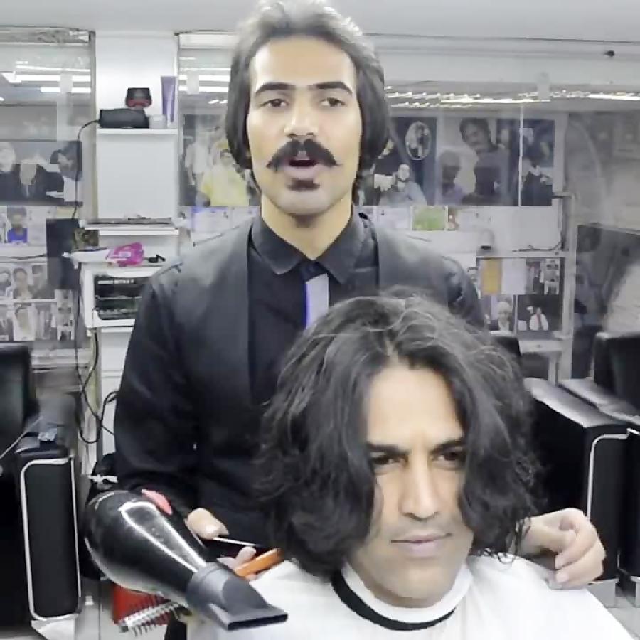 پکیج آموزش سشوار زدن موی بلند