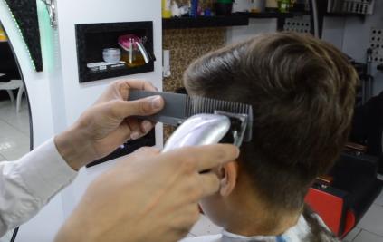 آموزش سایه زدن مو