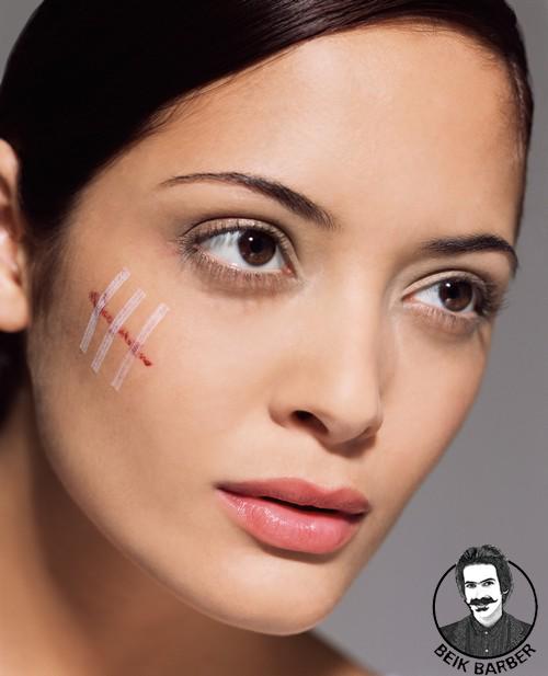 چگونگی ایجاد زخم،جای چاقو، تیر خوردگی،سوختگی،خال و زگیل بر روی پوست