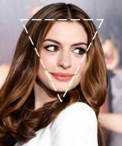 چهره مثلث