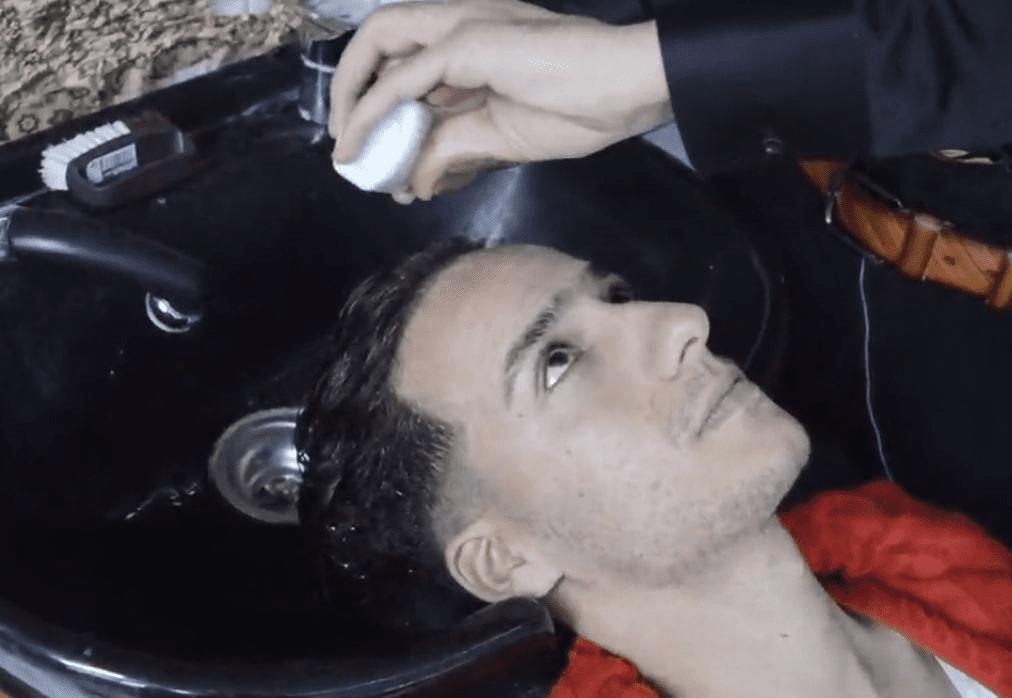 شست و شوی موی سر قبل از ویتامینه کردن