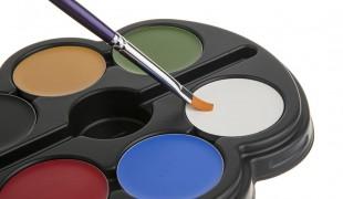 شناختن رنگ های گریم تئاتر