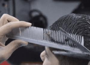 زاویه صفر در اصلاح مو