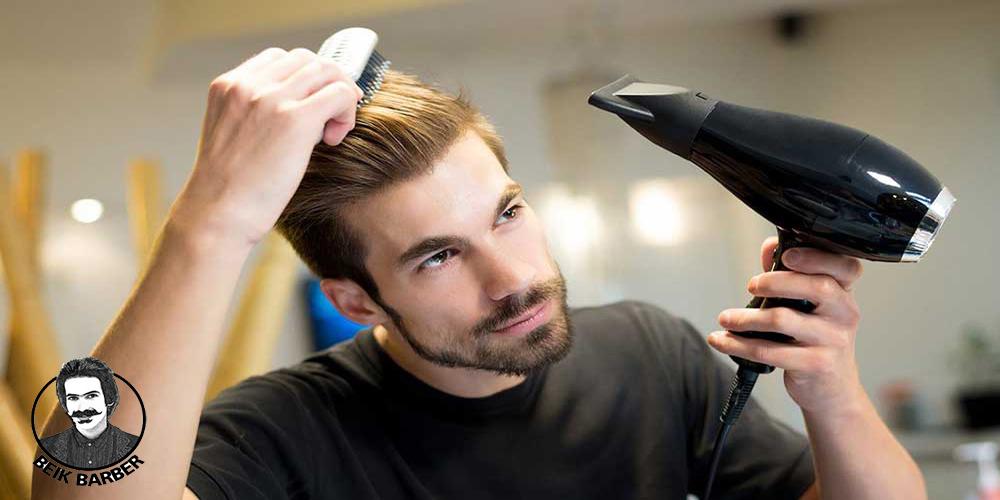 آموزش رایگان سشوار کردن مو (با تصویر) + 5 نکته مهم براشینگ مو
