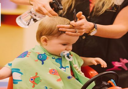 ابزار آرایشگری کودک
