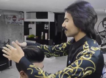 استفاده از ریواژن برای شینیون مو مردانه و پسرانه3