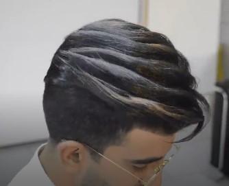انجام شینیون مو مردانه و پسرانه