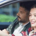 ابرو بازیگر ترکی جذاب و زیبا در حین ماشین