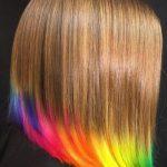 تکنیک رنگ موی اسپلش لایت فانتزی