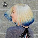 تکنیک رنگ موی اسپلش لایت جدید 2021