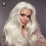 رنگ موی بلوند روشن بدون دکلره