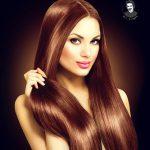 رنگ موی ساده جدید