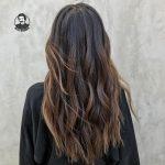تکنیک رنگ موی لویلایت جدید 1400
