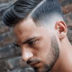 مدل مو سایه روشن با خط