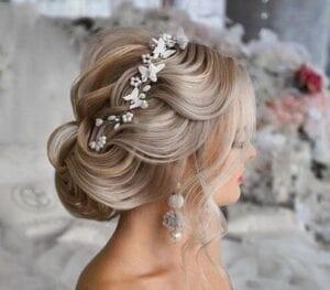 عکس مدل شنیون عروس جدید ۱۴۰۰