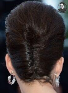 عکس مدل شنیون برای موهای کوتاه ۲۰۲۱